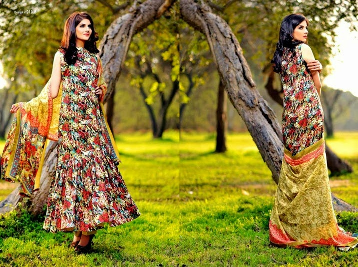 Swiss Voil Lawn 2014 Collection by Jubilee
