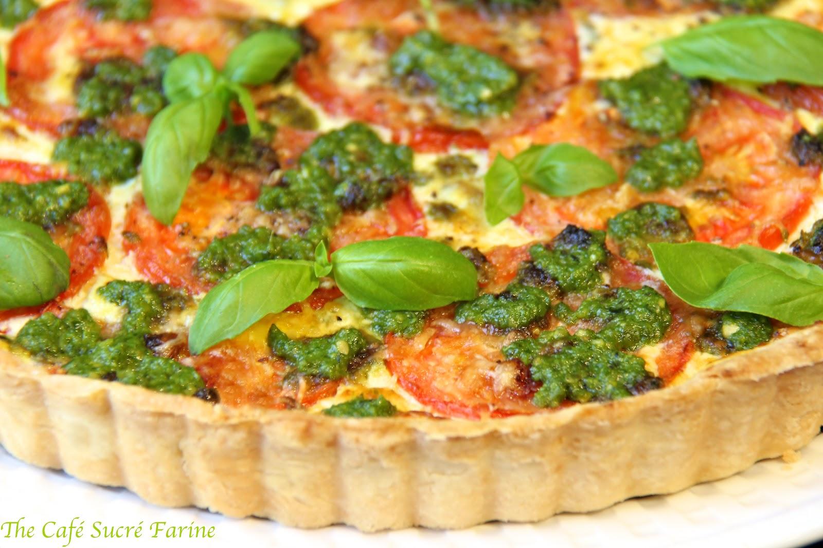 Herbed Ricotta Tart Recipe — Dishmaps