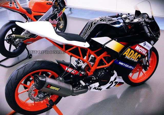 ktm faired rc 390