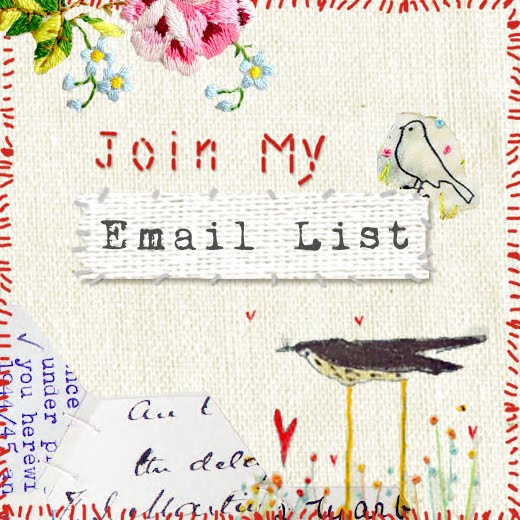 Here is an invitation to join my email list