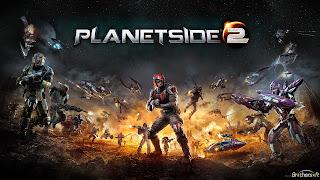 صورة تحميل لعبة PlanetSide 2 حرب الفضاء مجانا