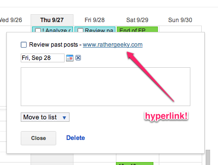 how to add to a google doc from a hyperlink