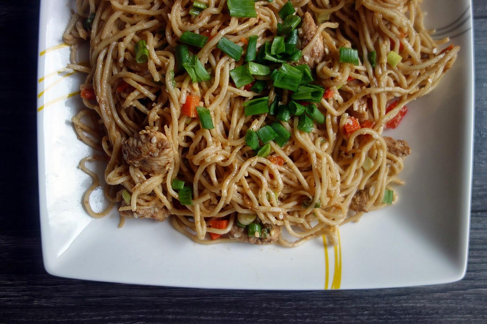 Mania Gotowania Makaron Smazony Z Jajkiem Po Chinsku