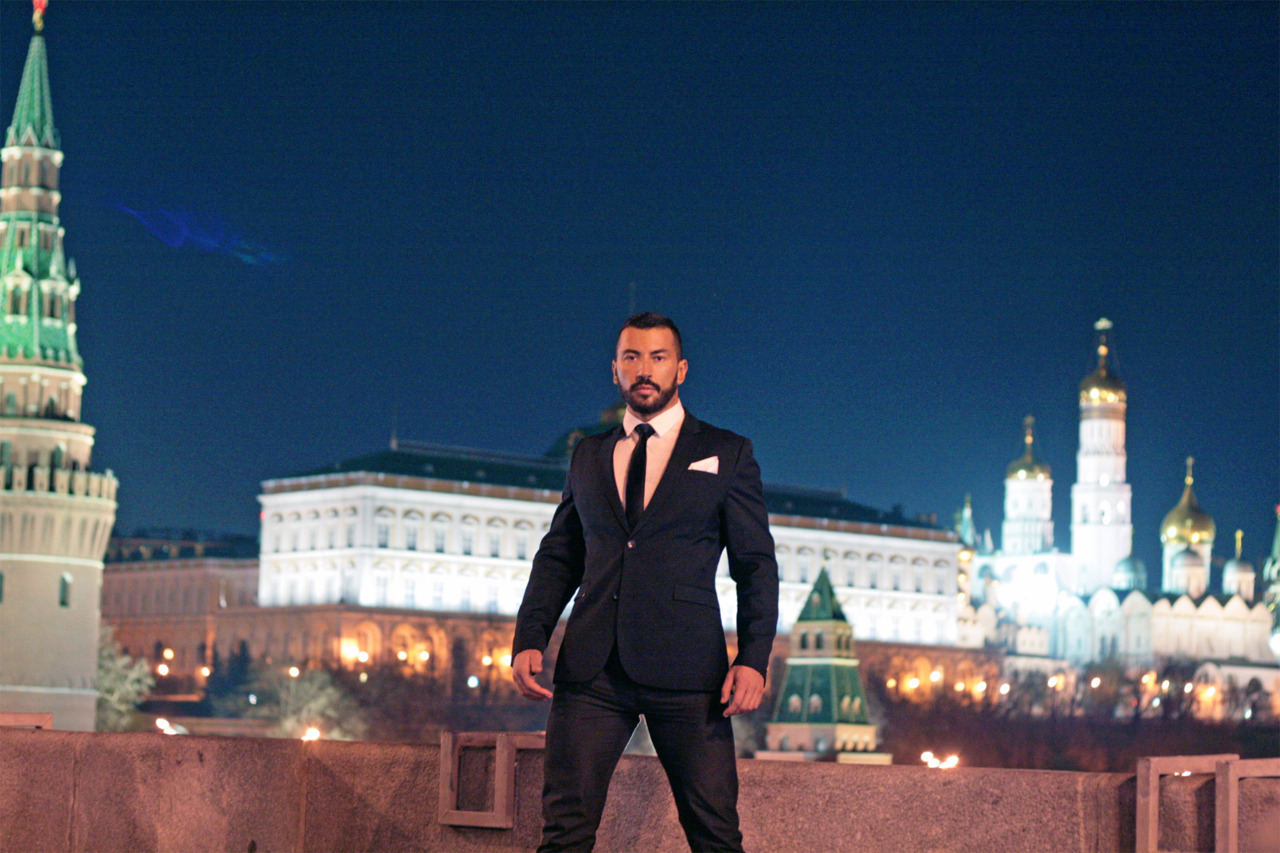 MEN: Clothed to Naked: Pavel Petel - Naked DJ