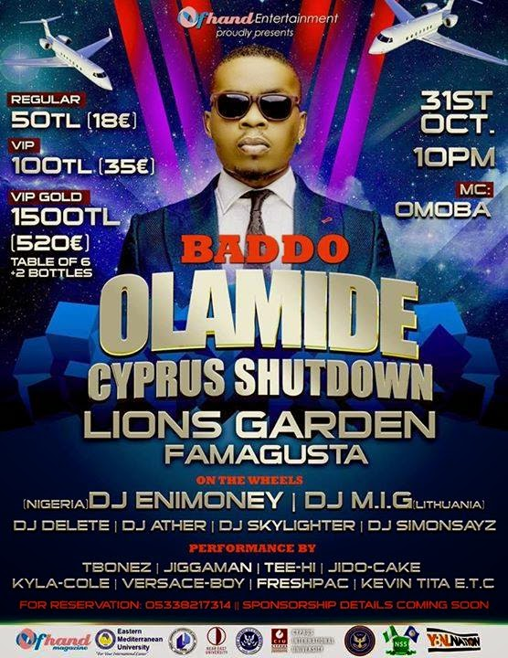 OLAMIDE CYPRUS SHUT DOWN