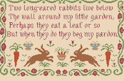 Two Long-eared Rabbits poem