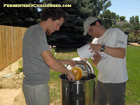 Adding liquid malt extract
