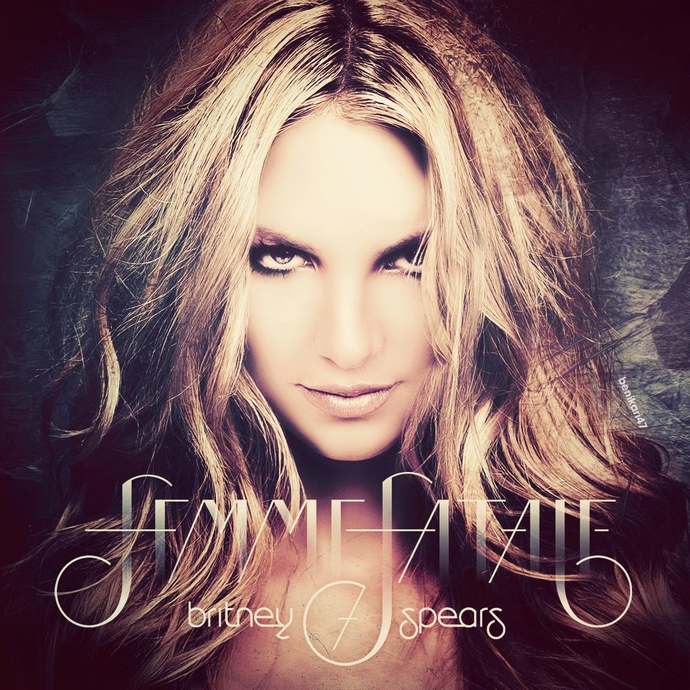 Benikari47's Graphics: Britney Spears - Femme Fatale Cover
