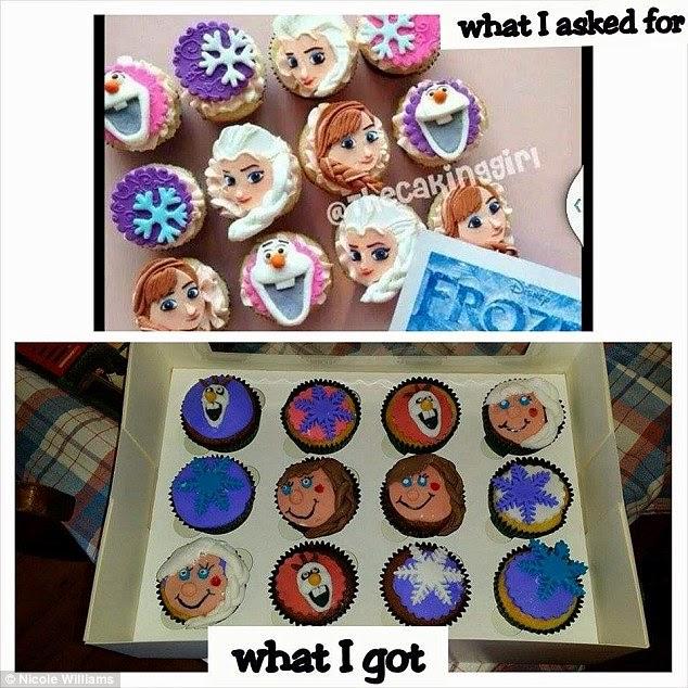 funny cupcake fail