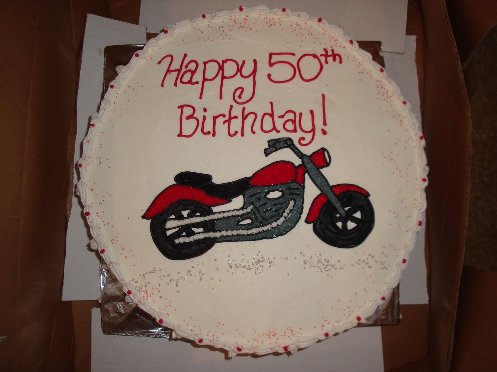 Slug Bug Bakery Motorcycle Fanatics and 50th Birthday Parties