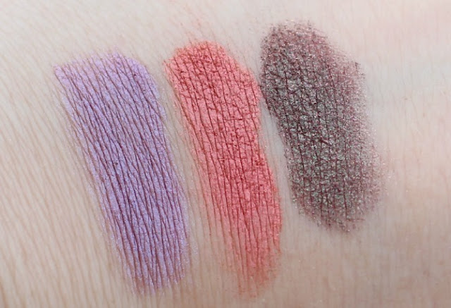 Neve Cosmetics pop society mineral eyeshadow swatches