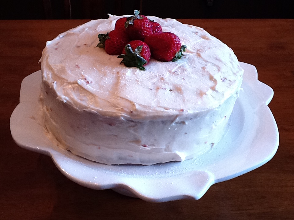 The Gourmet Country Girl: Strawberry Preserves Cake with ...