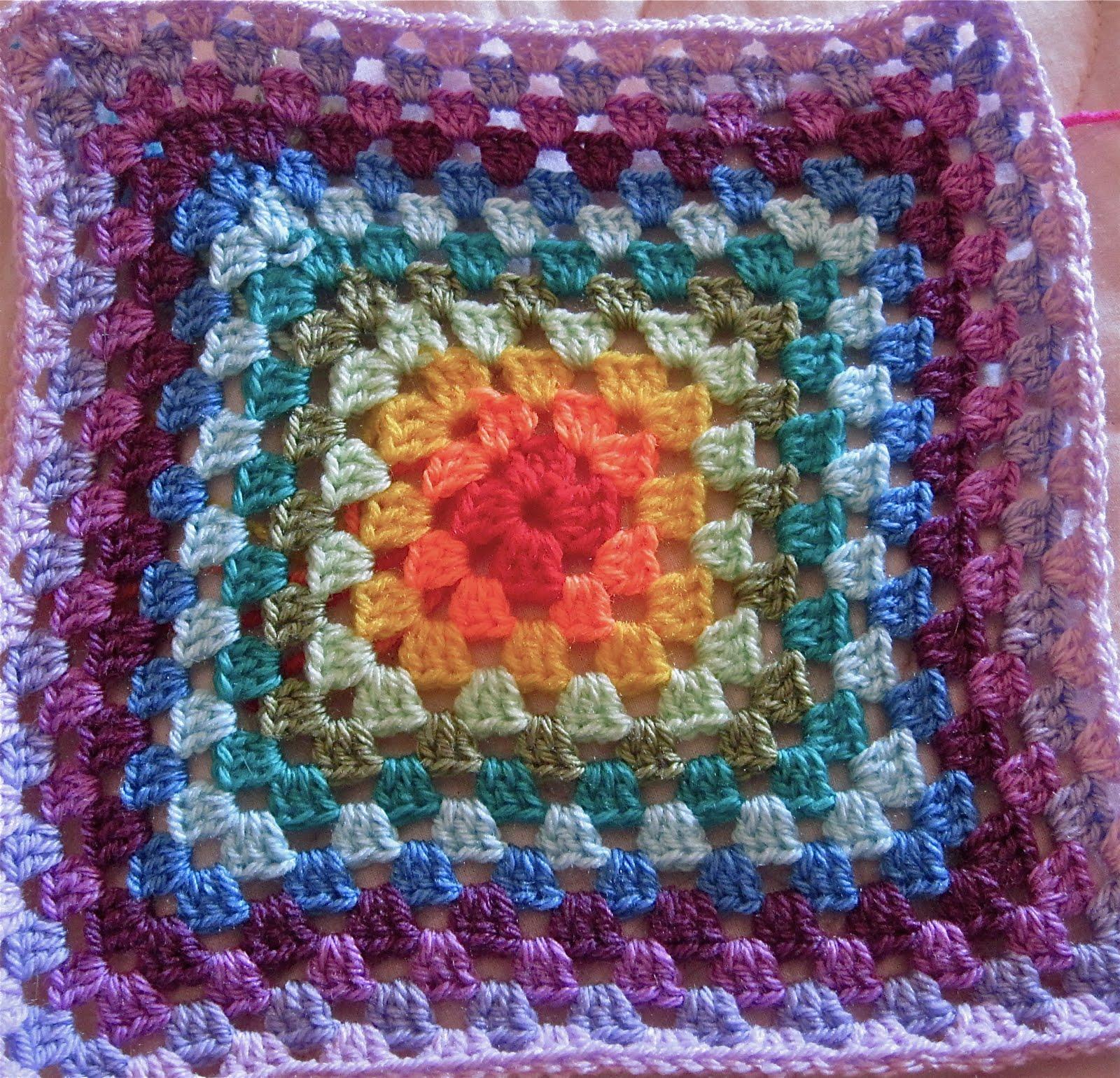 Le cose di mys maglia uncinetto telaio tutorial e - Piastrelle uncinetto pinterest ...