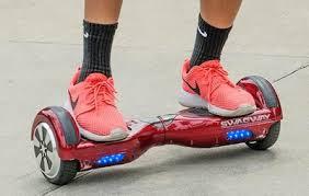 Self-balancing electronic scooter