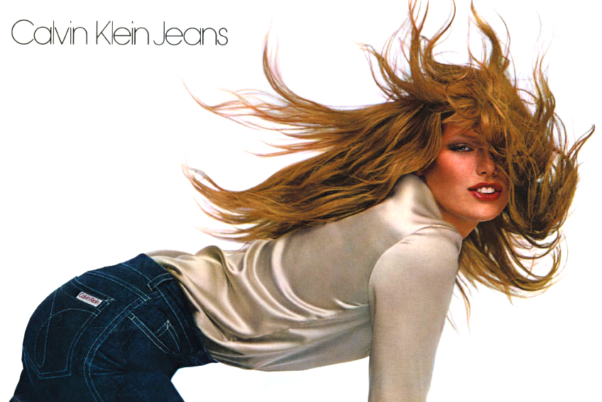 Patti Hansen by Charles Tracy for Calvin Klein Jeans 1979 campaign / fashioned by love