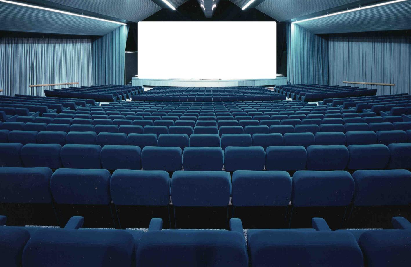 """""""Blue"""" cinema Cinema"""