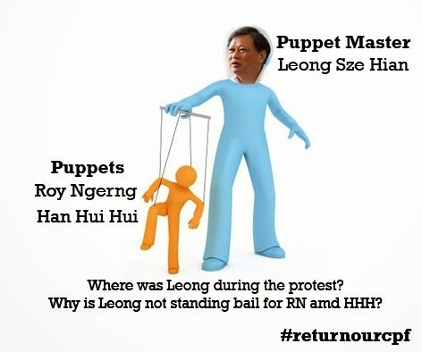 Leong Sze Hian the puppet master of Roy Ngerng and Han Hui Hui
