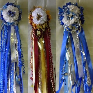 More samples of homecoming mums for sam rayburn high school and deer park high school