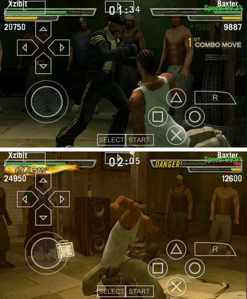Game Def Jam Fight PPSSPP