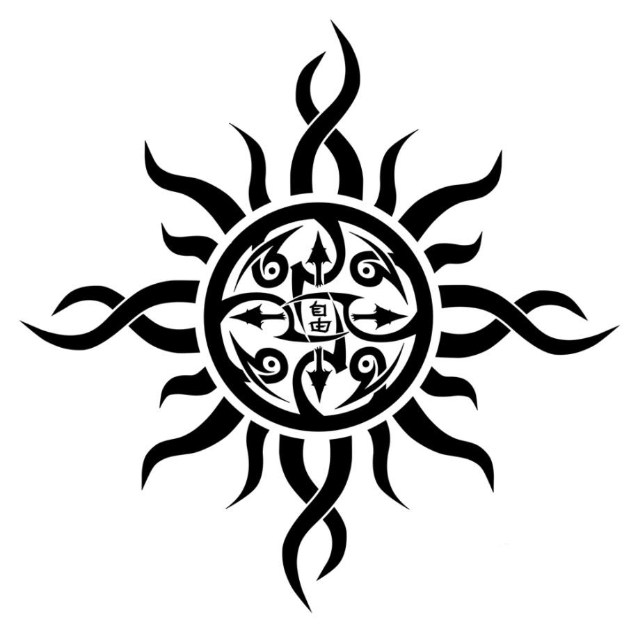Tribal sun and moon tribal sun and moon tattoos http hannikate tribal sun designs part 01 buycottarizona Image collections