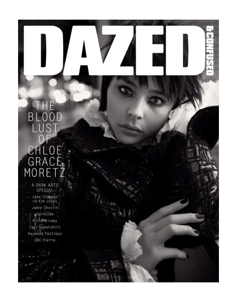 Chloe Moretz by Glen Luchford for Dazed & Confused November 2013
