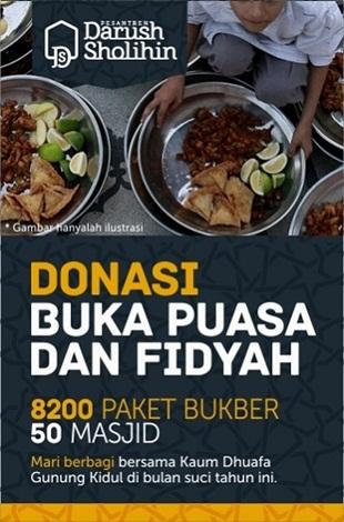 Donasi Buka Puasa dan Fidyah