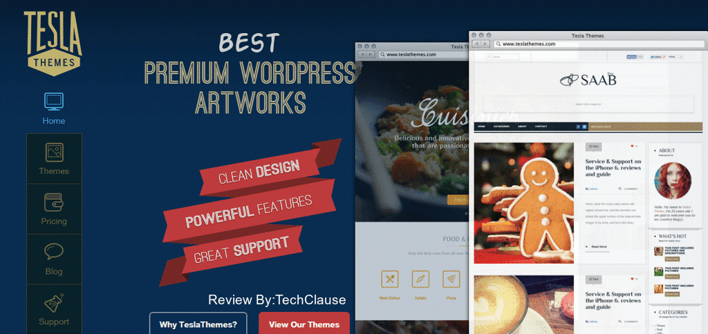 TeslaThemes is the Best Premium WordPress Themes Club