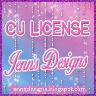 Jenn's Designs License