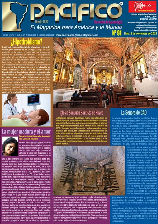 Revista Pacífico Nº 91 Arqueología