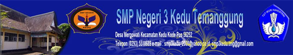 SMP Negeri 3 Kedu Temanggung