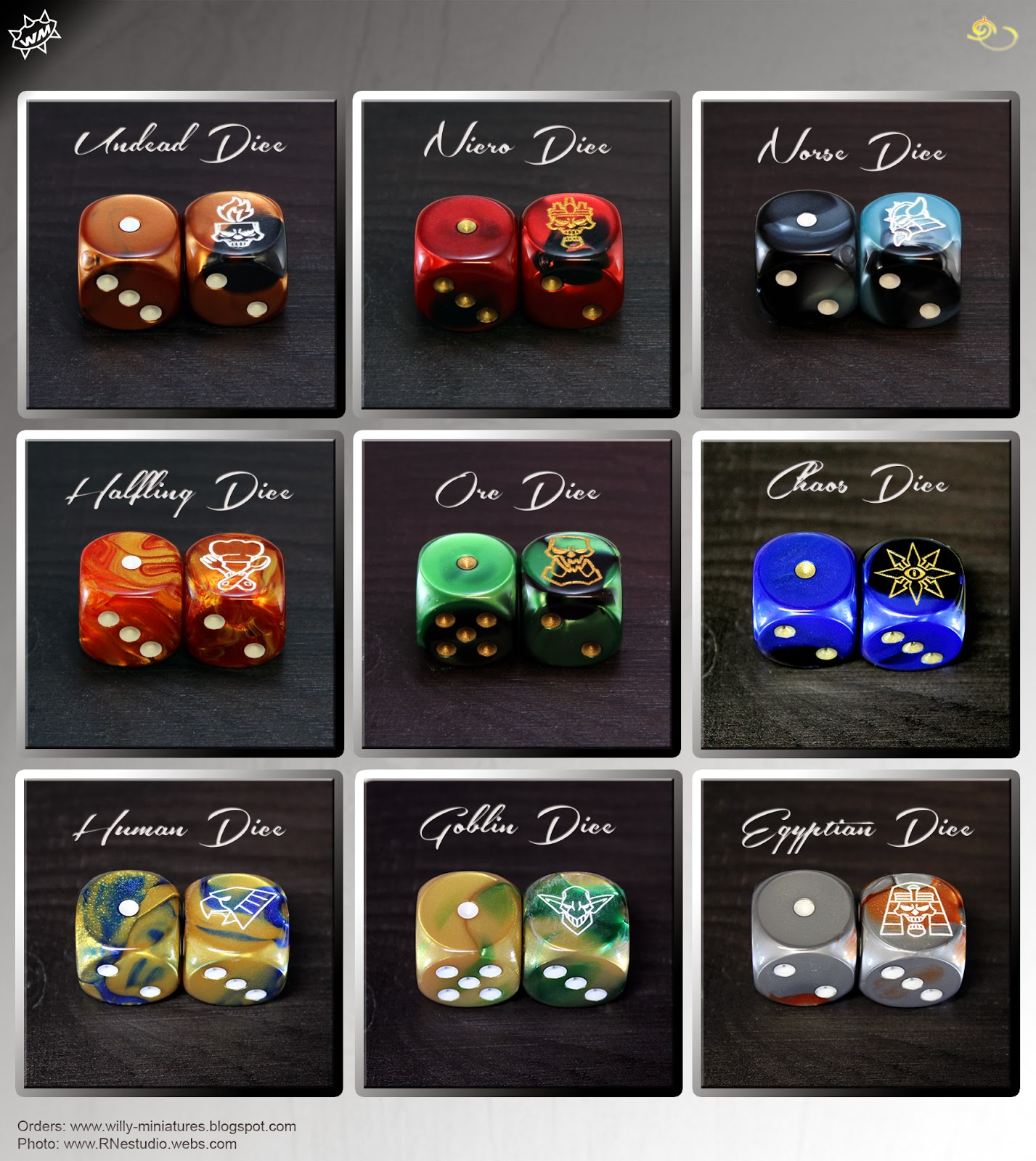 Dices Willy Miniatures