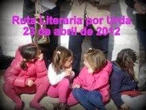 PRIMERA RUTA LITERARIA POR URDA, 23/04/2012