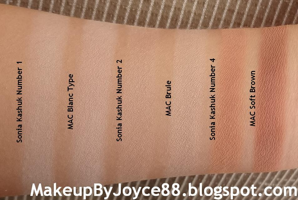 Top ❤ MakeupByJoyce ❤** !: Swatches + Review: Sonia Kashuk  PX48