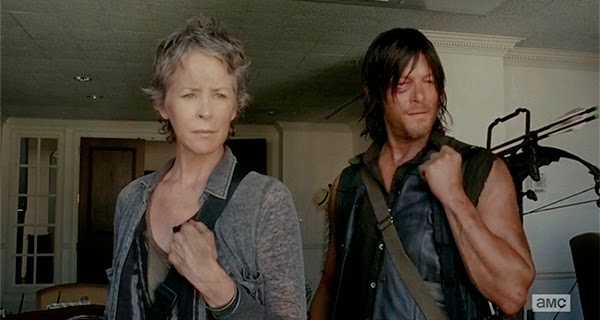 Carol y Daryl en  The Walking Dead 5x06