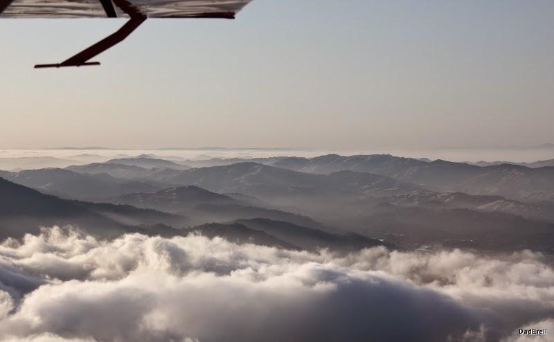 Montagnes au nord de San Francisco