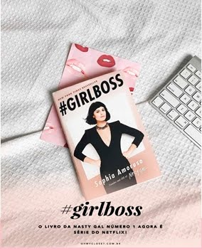 Compre já seu livro #Girlboss
