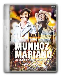 Munhoz & Mariano Ao Vivo em Campo Grande   DVDRIp + DVD R