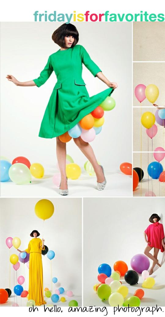 balloon photo shoot