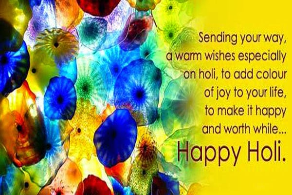 Happy Holi Sms 140 Words