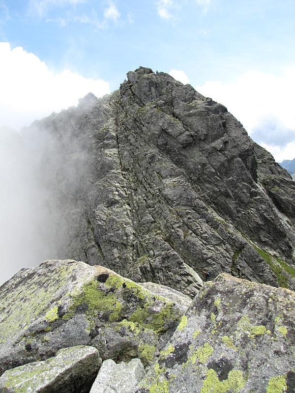 Kozi Wierch ze szczytu Kozich Czub.