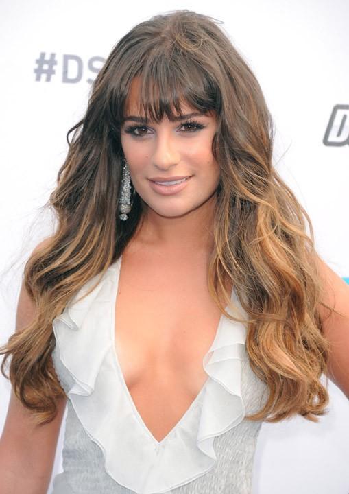 Lea Michele et son ombré hair