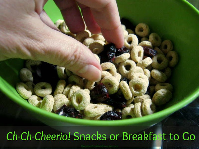 Ch-Ch-Cheerio Snacks or Breakfast to Go