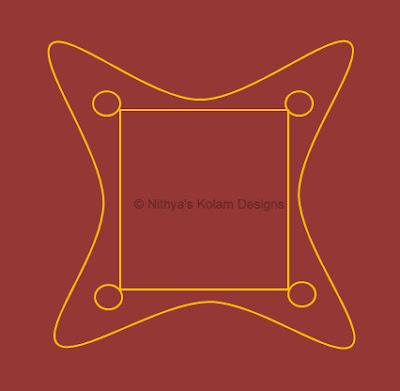 3 Navagraha Kolam | Chandra Bhagavan | Monday