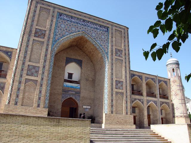 Uzbekistán, Tashkent - madrasa Kukaldosh