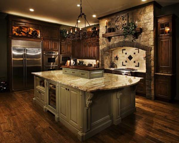 Old world kitchen ideas the kitchen design for Kitchen world