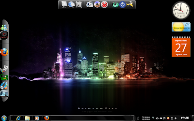 Tema Night City Para Windows 7 Capa