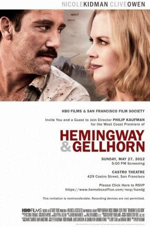 Hemingway And Gellhorn 2012 poster