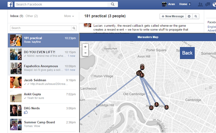 This Facebook Hack Allows you to Track Your Friends via Messenger