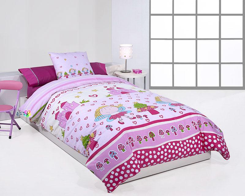 Blog de ropa de cama rosa para una princesa - Funda nordica princesas ...