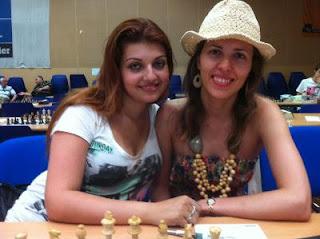 Duo de charme avec les deux GMF ukrainiennes Evgeniya Doluhanova et Tatiana Kostiuk